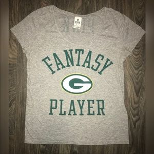 Victoria's Secret PINK Green Bay Packers Tee Med